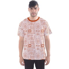 Brown Aboriginal Indigenous African Men s Sport Mesh Tee