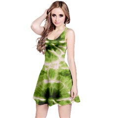 Olive Tie Dye Sleeveless Dress by CoolDesigns