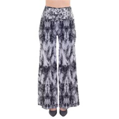 White Tie Dye 2 Chic Palazzo Pants by CoolDesigns