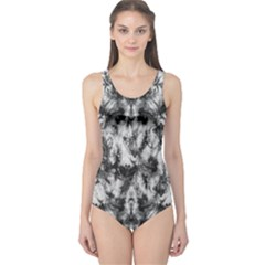 White Tie Dye 2 One Piece Swimsuit