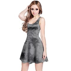 Black Tie Dye Sleeveless Dress by CoolDesigns