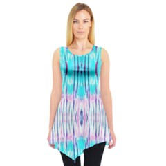 Aqua Tie Dye Tunic Top by CoolDesigns