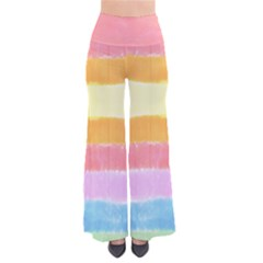 Rainbow Tie Dye Palazzo Pants by CoolDesigns