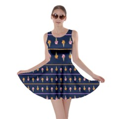 Navy Icecream Skater Dress by CoolDesigns
