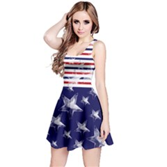 Us Strips Reversible Sleeveless Dress