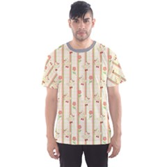 Yellow Cute Duck Pattern Men s Sport Mesh Tee by CoolDesigns