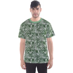 Green Vegetables And Fruit Men s Sport Mesh Tee