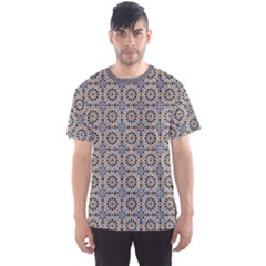 Gray Traditional Morocco Pattern Men s Sport Mesh Tee by CoolDesigns