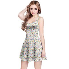 Colorful Summer Pattern Sleeveless Dress