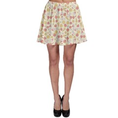 Colorful Kawaii Pattern With Cute Cakes Skater Dress by CoolDesigns