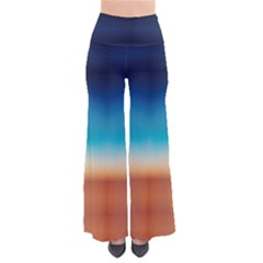 Desert Gradient Tie Dye Palazzo Pants by CoolDesigns