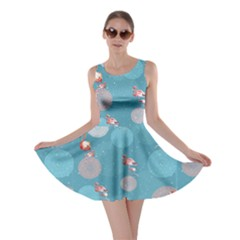 Flamingo Balls 2 Flamingo V2 Skater Dress by CoolDesigns