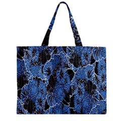 Floral Pattern Background Seamless Zipper Mini Tote Bag by Simbadda