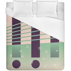 Day Sea River Bridge Line Water Duvet Cover (california King Size) by Alisyart