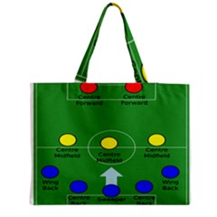 Field Football Positions Medium Tote Bag by Alisyart