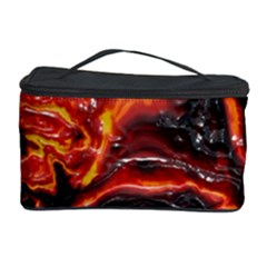 Lava Active Volcano Nature Cosmetic Storage Case by Alisyart