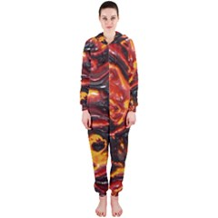 Lava Active Volcano Nature Hooded Jumpsuit (ladies)  by Alisyart