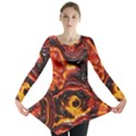 Lava Active Volcano Nature Long Sleeve Tunic  View1