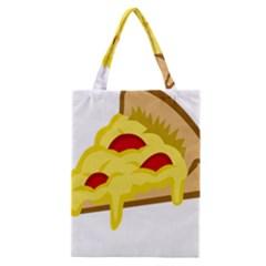 Pasta Salad Pizza Cheese Classic Tote Bag by Alisyart