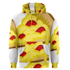 Pasta Salad Pizza Cheese Men s Pullover Hoodie by Alisyart