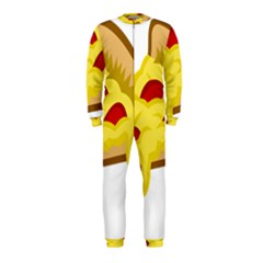 Pasta Salad Pizza Cheese Onepiece Jumpsuit (kids) by Alisyart