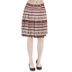 Pattern Tribal Triangle Pleated Skirt by Alisyart