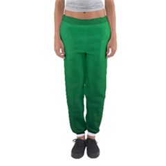 Green Beach Fractal Backdrop Background Women s Jogger Sweatpants by Simbadda