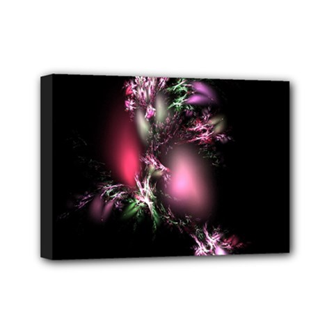 Colour Of Nature Fractal A Nice Fractal Coloured Garden Mini Canvas 7  X 5  by Simbadda