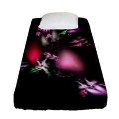 Colour Of Nature Fractal A Nice Fractal Coloured Garden Fitted Sheet (single Size) by Simbadda