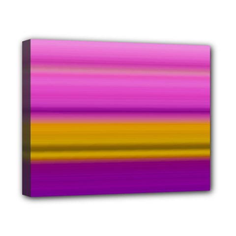 Stripes Colorful Background Colorful Pink Red Purple Green Yellow Striped Wallpaper Canvas 10  X 8  by Simbadda