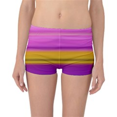 Stripes Colorful Background Colorful Pink Red Purple Green Yellow Striped Wallpaper Reversible Bikini Bottoms by Simbadda