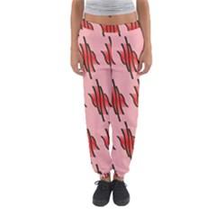 Variant Red Line Women s Jogger Sweatpants