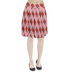 Variant Red Line Pleated Skirt by Alisyart