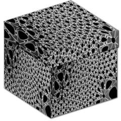 X Ray Rendering Hinges Structure Kinematics Circle Star Black Grey Storage Stool 12   by Alisyart