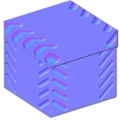 Leftroom Normal Purple Storage Stool 12   by Alisyart
