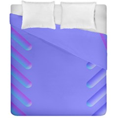 Leftroom Normal Purple Duvet Cover Double Side (california King Size) by Alisyart