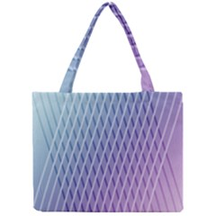 Abstract Lines Background Mini Tote Bag by Simbadda