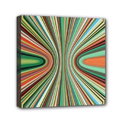 Colorful Spheric Background Mini Canvas 6  X 6  by Simbadda