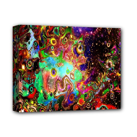 Alien World Digital Computer Graphic Deluxe Canvas 14  X 11  by Simbadda