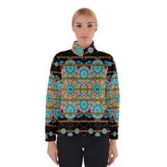 Gold Silver And Bloom Mandala Winterwear by pepitasart