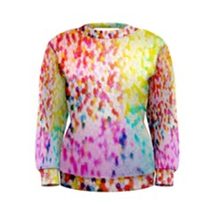 Colorful Colors Digital Pattern Women s Sweatshirt