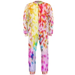 Colorful Colors Digital Pattern Onepiece Jumpsuit (men)
