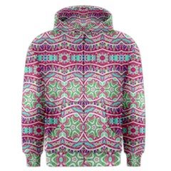 Colorful Seamless Background With Floral Elements Men s Zipper Hoodie by Simbadda