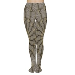 Abstract Image Showing Moiré Pattern Women s Tights