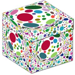 Color Ball Storage Stool 12   by Mariart