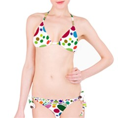 Color Ball Bikini Set