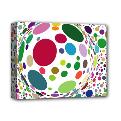 Color Ball Deluxe Canvas 14  X 11