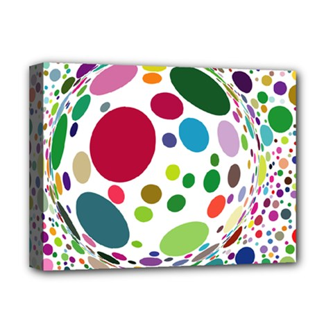 Color Ball Deluxe Canvas 16  X 12
