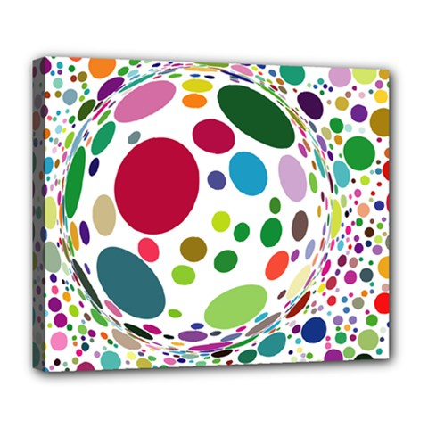 Color Ball Deluxe Canvas 24  X 20
