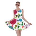 Color Ball Skater Dress